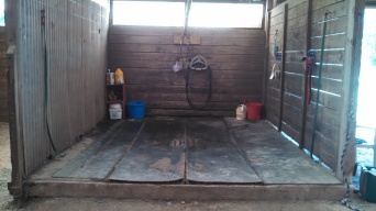 Wash Stall with hot/cold running water